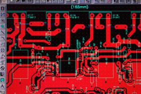 여러분 PCB ARTWORK 는 처음 시작시 나름되로                    규율을 만들어 놓고 하면 편합니다.                  ' 본인도 처음에는 PCAD 배울때 엄청 힘들었죠 '                  시작이 반이죠 ARTWORK 는 액티브 서브우퍼 앰프 100WAT 출력부 일부입니다.