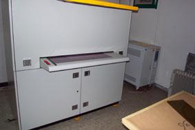 거버돌린 파일이 암실로 보내저서                   필름에 PLOT 합니다.